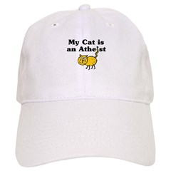 My Cat Is An Atheist Cap