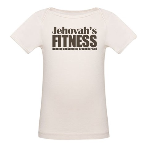 Jehovah's Fitness Organic Baby T-Shirt