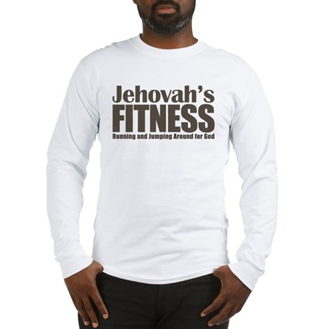 Jehovah's Fitness Long Sleeve T-Shirt