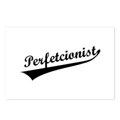 Funny Perfetcionist T-Shirts Postcards (Package of 8)