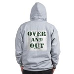 Over & Out Zip Hoodie