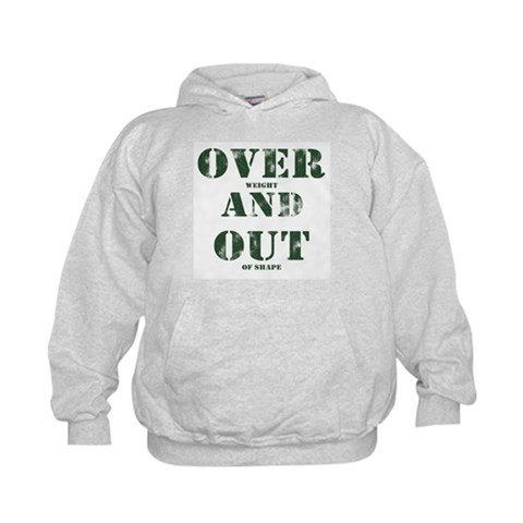 Over & Out Kids Hoodie