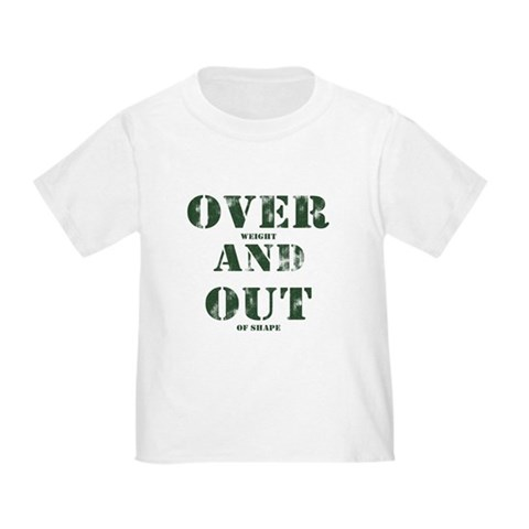 Over & Out Toddler T-Shirt