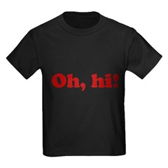 Oh, hi! Kids Dark T-Shirt