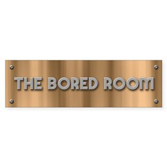 The Bored Room Sticker (Bumper)
