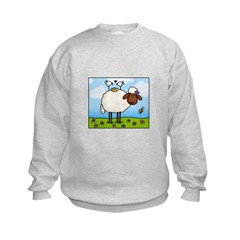 Spring Sheep Kids Sweatshirt