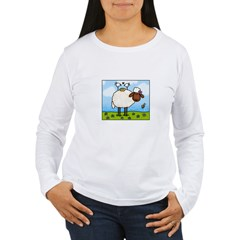 Spring Sheep Women's Long Sleeve T-Shirt
