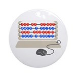 QWERTY B.C. Ornament (Round)