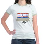 QWERTY B.C. Jr. Ringer T-Shirt