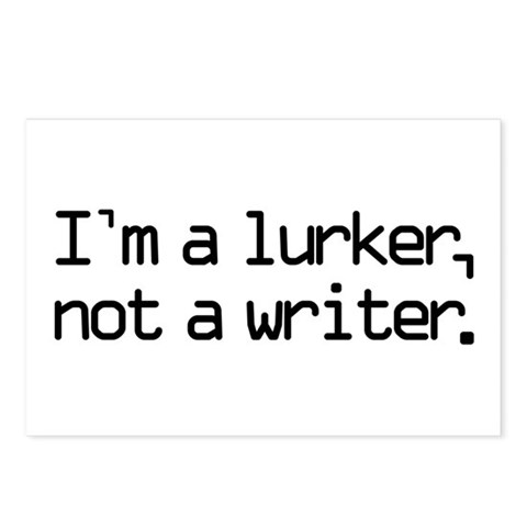I'm a Lurker... Postcards (Package of 8)