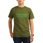 I'm a Lurker, Not a Writer Organic Men's T-Shirt (dark)
