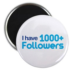 I Have 1000+ Followers Magnet