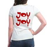 Happy Happy Joy Joy Jr. Ringer T-Shirt