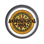 Astrological Sign Wall Clock