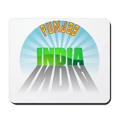 Punjab India Mousepad