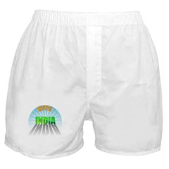 Bhopal India Boxer Shorts