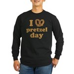 I Pretzel Pretzel Day Long Sleeve Dark T-Shirt