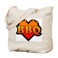 BBQ Love Tote Bag