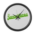 Sweathogs Large Wall Clock