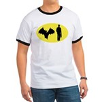 Bat Man Ringer T