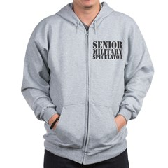 Senior Military Speculator Zip Hoodie