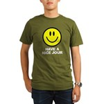 Have a Nice Jour Organic Men's T-Shirt (dark)