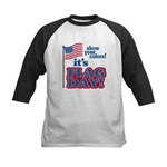 Flag Day Kids Baseball Jersey