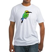 Rainbow Bee-eater Fitted T-Shirt