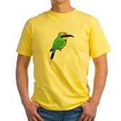 Rainbow Bee-eater Yellow T-Shirt