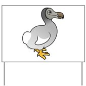 Birdorable Dodo Yard Sign