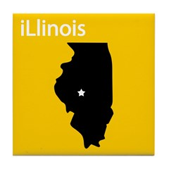 iLlinois Tile Coaster