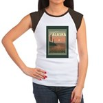Visit Beautiful Alaska Women's Cap Sleeve T-Shirt