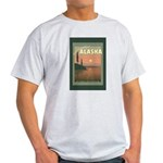 Visit Beautiful Alaska Light T-Shirt