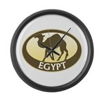Egyptian Camel Large Wall Clock