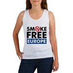 Smoke Free Europe Women's Tank Top