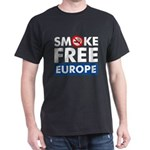 Smoke Free Europe Dark T-Shirt