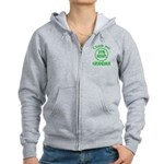 25% Irish - Thank You Grandma Women's Zip Hoodie