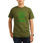 25% Irish - Thank You Grandma Organic Men's T-Shirt (dark)