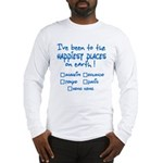 Happiest Places on Earth Long Sleeve T-Shirt
