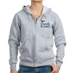 Czech It Out Women's Zip Hoodie