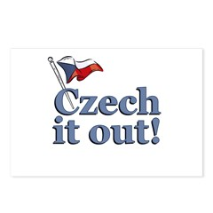 Czech It Out Postcards (Package of 8)