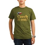 Czech It Out Organic Men's T-Shirt (dark)