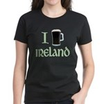 I Love Ireland (beer) Women's Dark T-Shirt