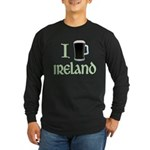 I Love Ireland (beer) Long Sleeve Dark T-Shirt