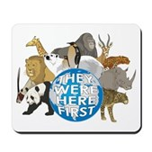 They Were Here First Mousepad