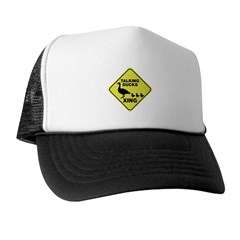 Talking Ducks Crossing Trucker Hat