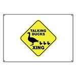 Talking Ducks Crossing Banner