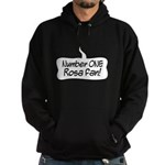 Number One Rosa Fan Hoodie (dark)