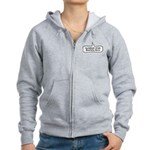 Number One Barks Fan Women's Zip Hoodie