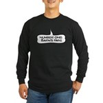 Number One Barks Fan Long Sleeve Dark T-Shirt